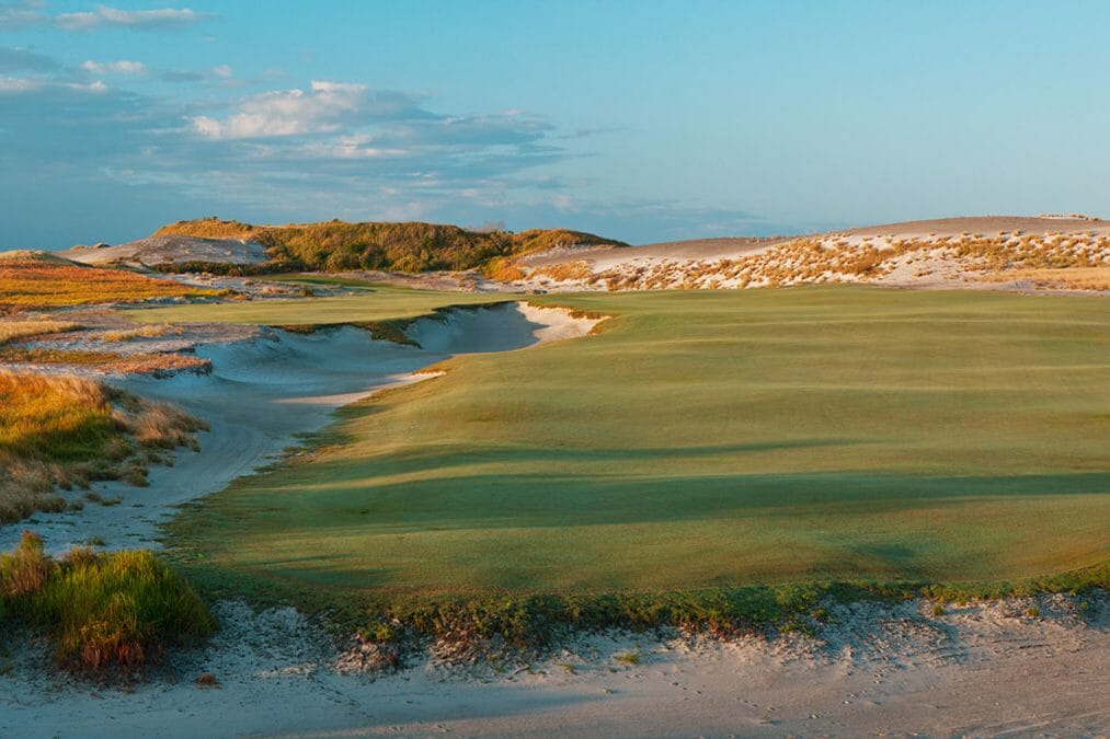 Sweeping fairways await golfers playing the Red Course at Streamsong Golf Resort in Florida