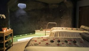 Interior view of a spa treatment room at Streamsong Resort in Florida