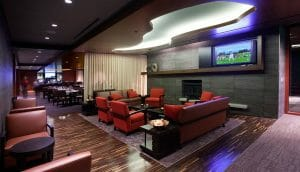 Interior view of the Clubhouse at Streamsong Golf Resort in Florida