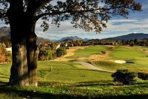Landscape image of the Millbrook Golf Course near Queenstown, New Zealand