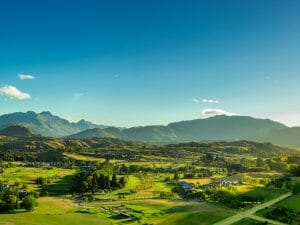 Image displaying the Millbrook Resort Golf Course and accommodation in New Zealand