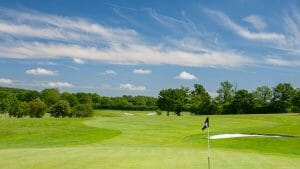 Blue skies shine over the Marriott Forest of Arden Golf Course