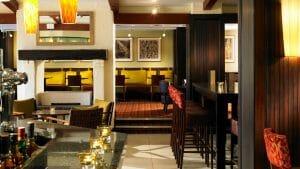 Internal view of the CastIron Grill Restaurant at Marriott's Forest of Arden Resort