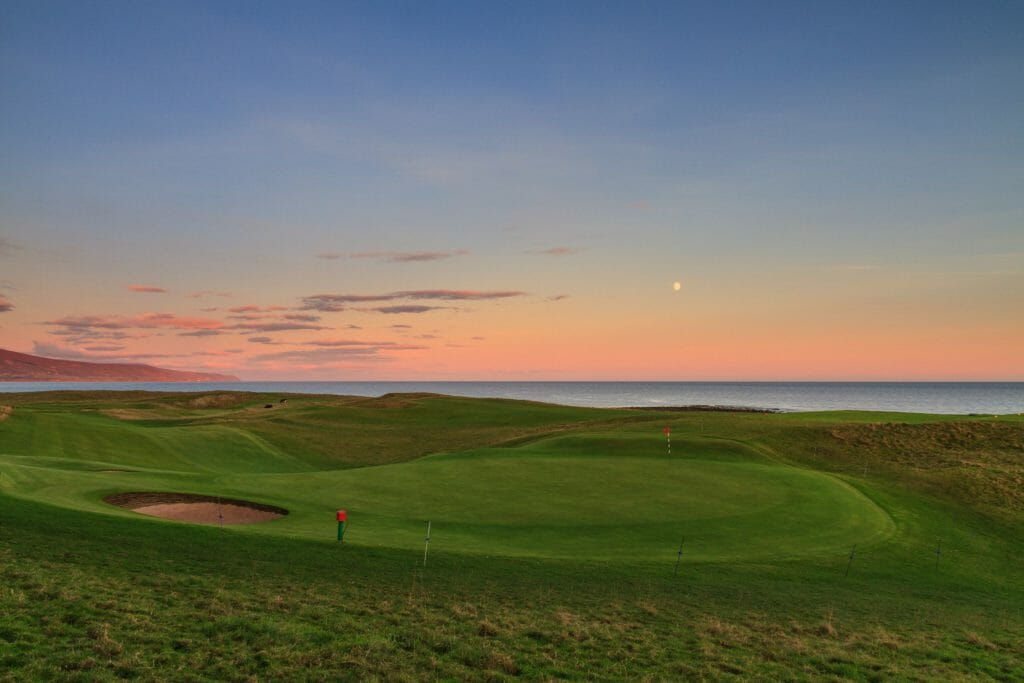 Twilight golf can be played at Brora Golf Club