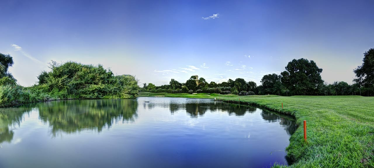 A large lake will feature in the 2022 Ryder Cup Course