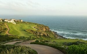 View over the twelfth hole at Pinnacle Point Estate