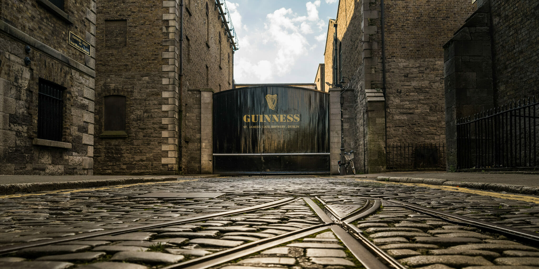 External view of Dublin's Guinness Storehouse