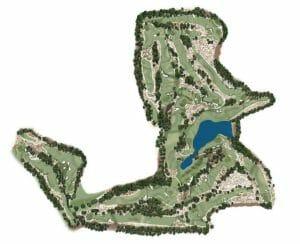 Pinehurst no. 4 Routing Map
