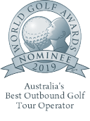 World Golf Awards Nominee Badge