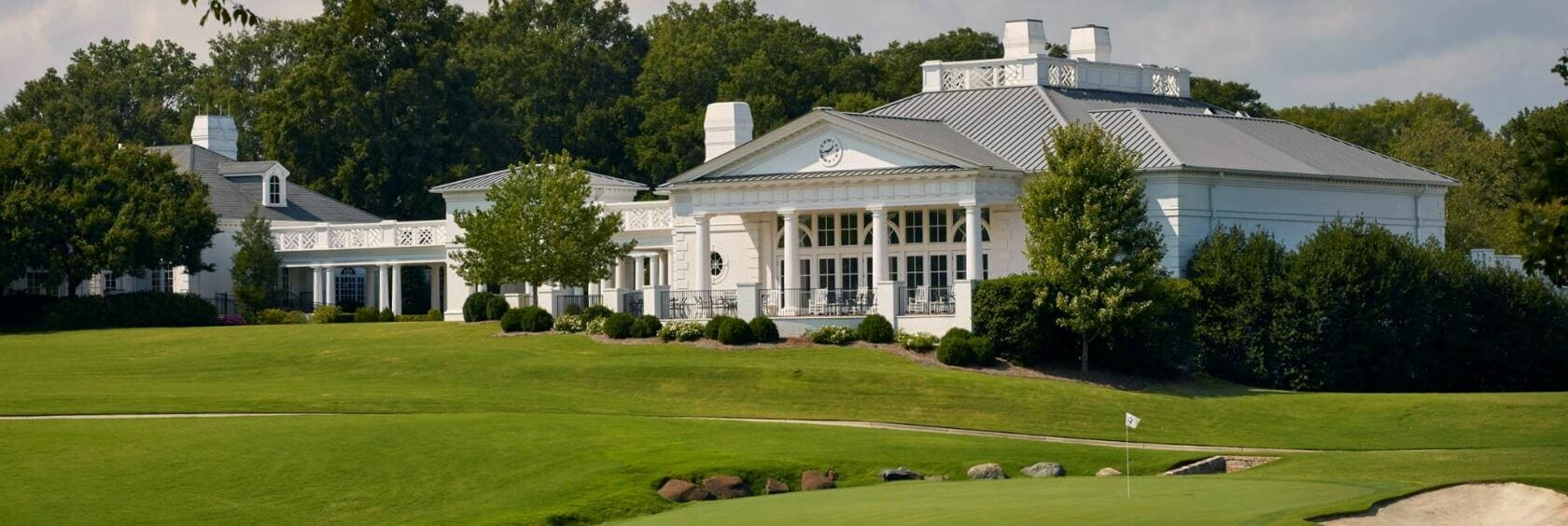 Quail Hollow golf clubhouse in North Carolina